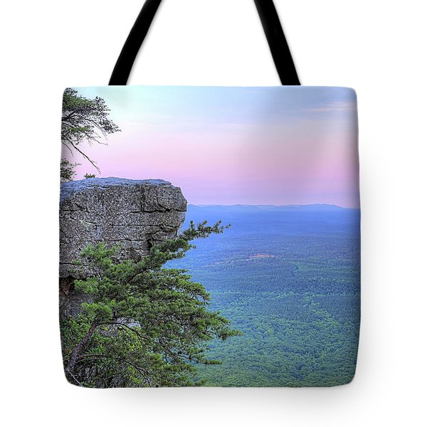 Tote Bag featuring the photograph Cheaha The Top Of Alabama by JC Findley