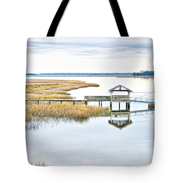 Chechessee Creek Dock Tote Bag