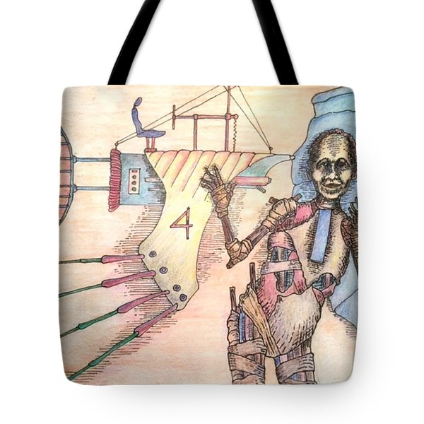 Check Out Paul's New Ride Tote Bag