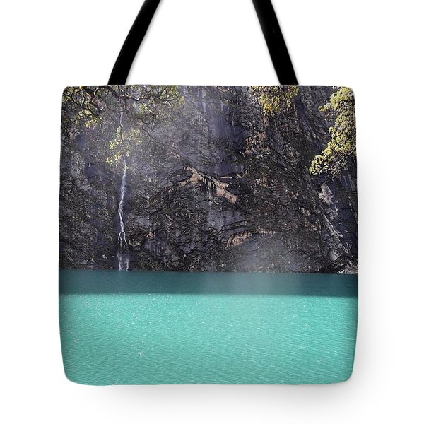Check Out The Colour Of That Water - Tote Bag