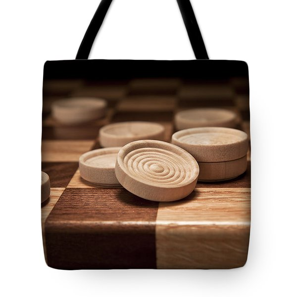 Checkers II Tote Bag