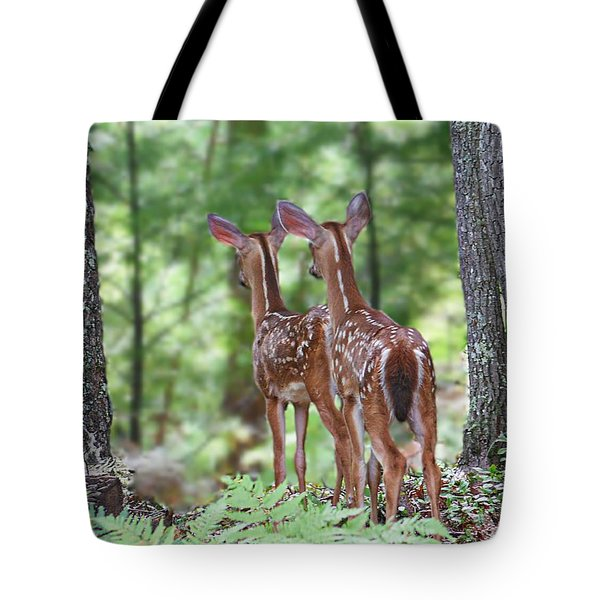 Checking It Out Tote Bag