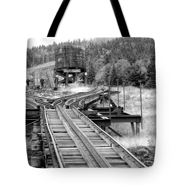 Checking The Rails Tote Bag