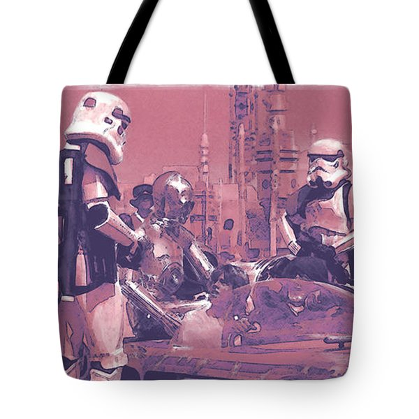Checkpoint Tote Bag by Kurt Ramschissel