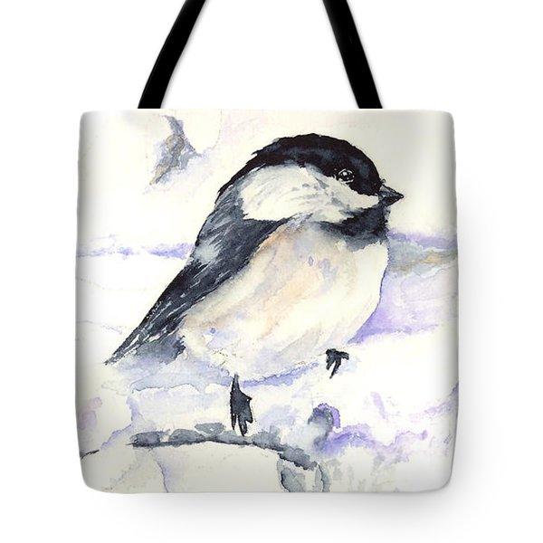Cheeky Chickadee Tote Bag
