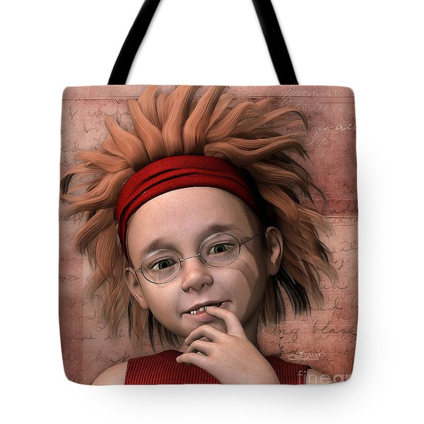 Cheeky Little Miss Tote Bag