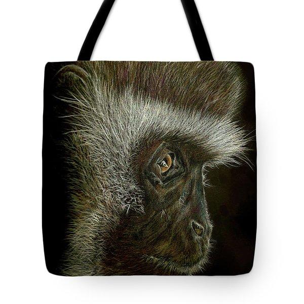 Cheeky Monkey Tote Bag by Heidi Kriel