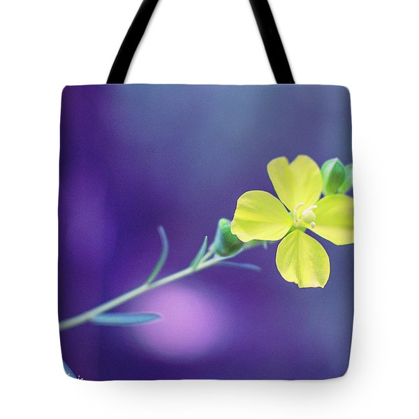Cheer Up Buttercup Tote Bag by Stefanie Silva