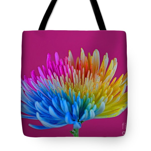 Cheerful Tote Bag by Ray Shrewsberry