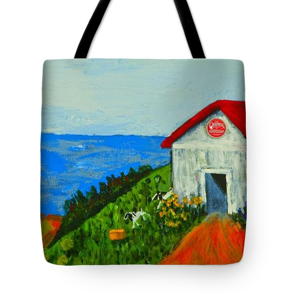 Cheerwine Barn Tote Bag
