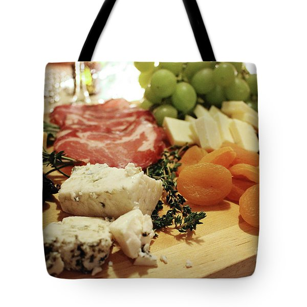 Cheese And Meat Tote Bag