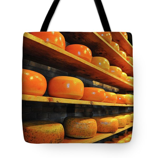 Tote Bag featuring the photograph Cheese In Holland by Harry Spitz