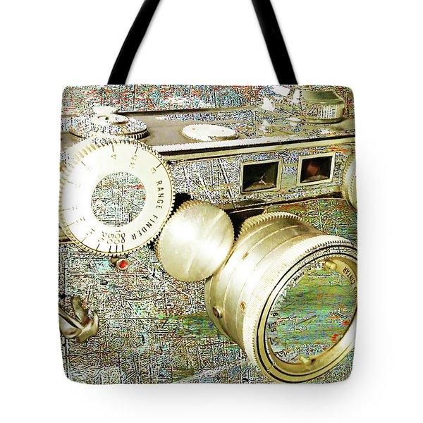 Tote Bag featuring the mixed media Cheese by Tony Rubino