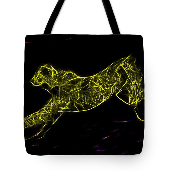 Cheetah Body Built For Speed Tote Bag