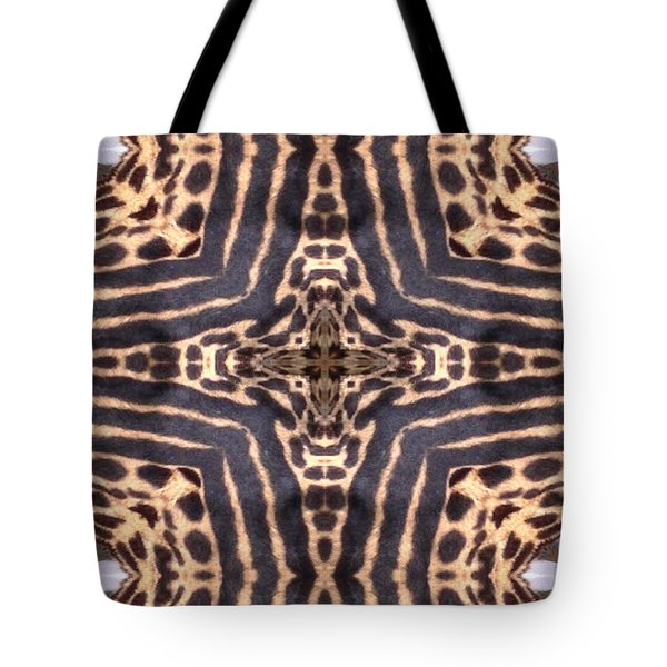 Cheetah Cross Tote Bag by Maria Watt