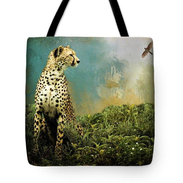 Cheetah Tote Bag by Diana Boyd