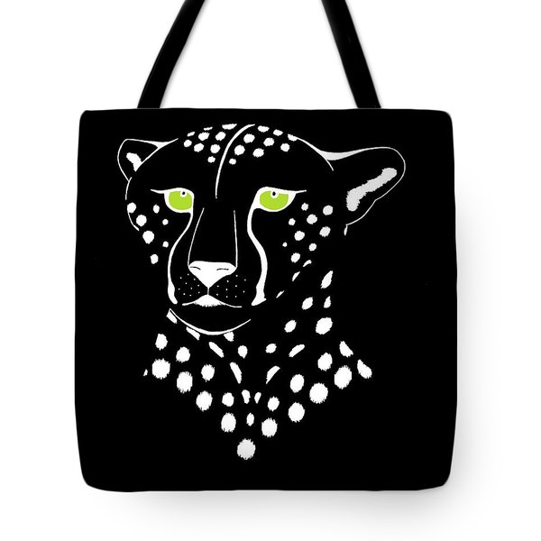 Cheetah Inverted Tote Bag