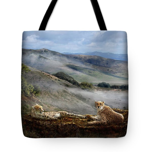 Cheetah Ridge Tote Bag