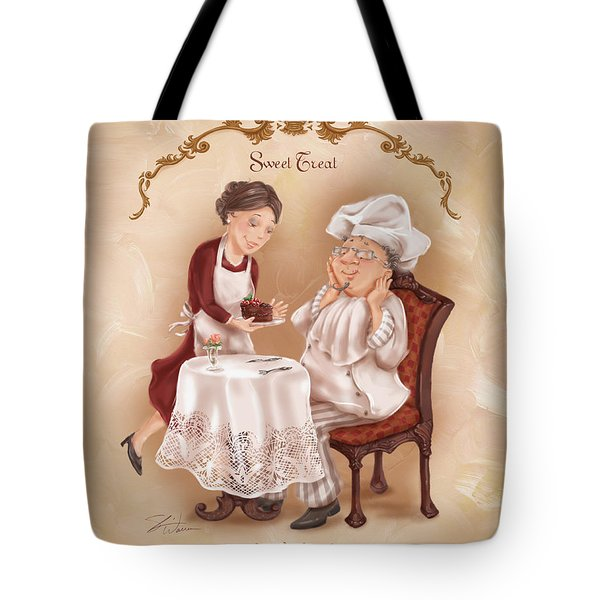 Chefs On A Break-sweet Treat Tote Bag