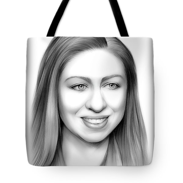 Chelsea Clinton Tote Bag