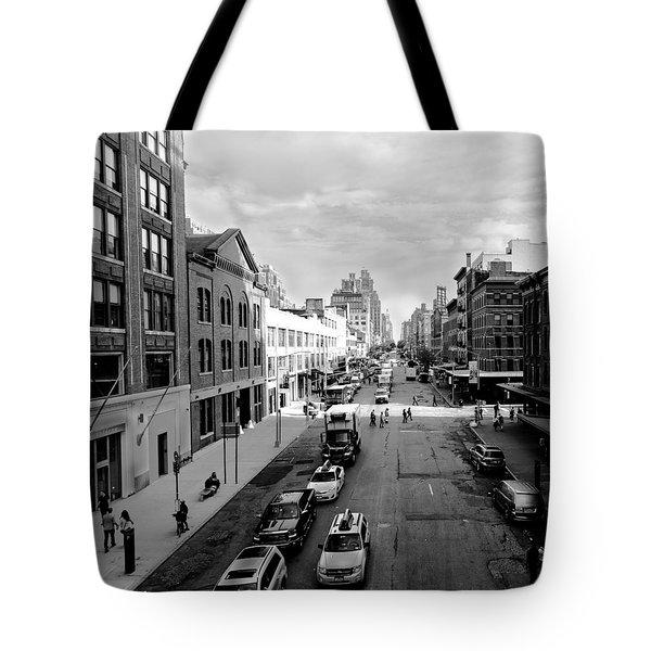 Chelsea Neighborhood, New York City Tote Bag