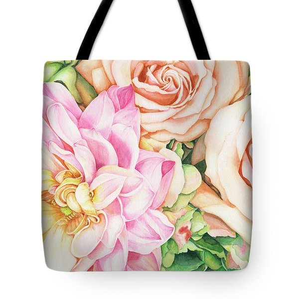 Chelsea's Bouquet Tote Bag
