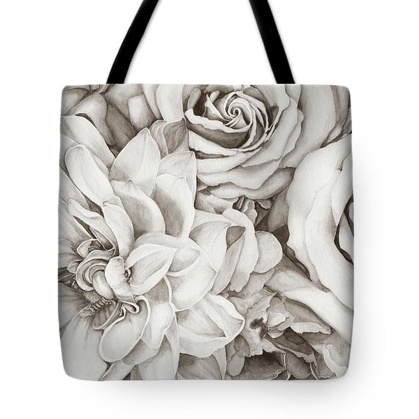 Chelsea's Bouquet - Neutral Tote Bag