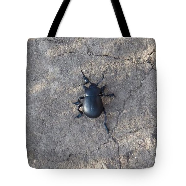 Tote Bag featuring the photograph Chemin Du Scarabee by Marc Philippe Joly