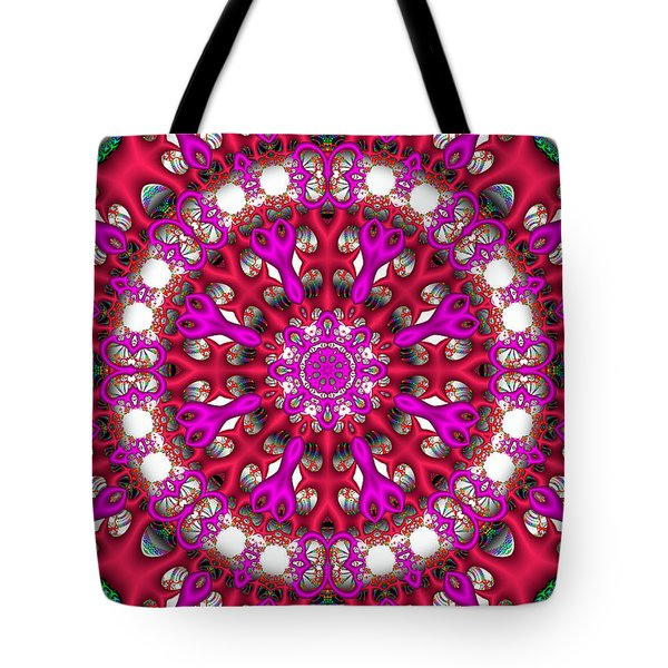 Tote Bag featuring the digital art Chemistry by Robert Orinski