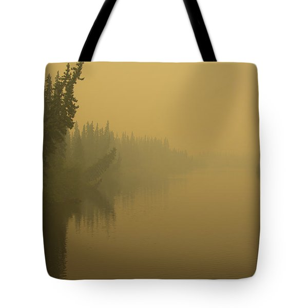 Tote Bag featuring the photograph Chena River by Gary Lengyel