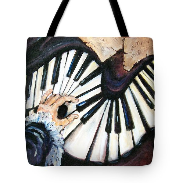 Cherished Music Tote Bag