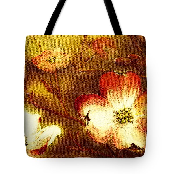 Cherokee Rose Dogwood - Glow Tote Bag