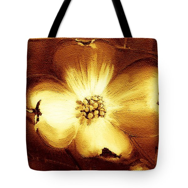 Cherokee Rose Dogwood - Single Glow Tote Bag