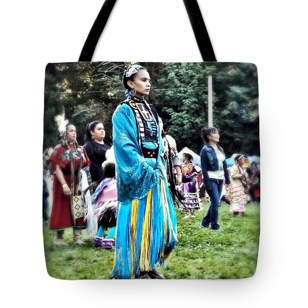 Cherokee Warrior Tote Bag