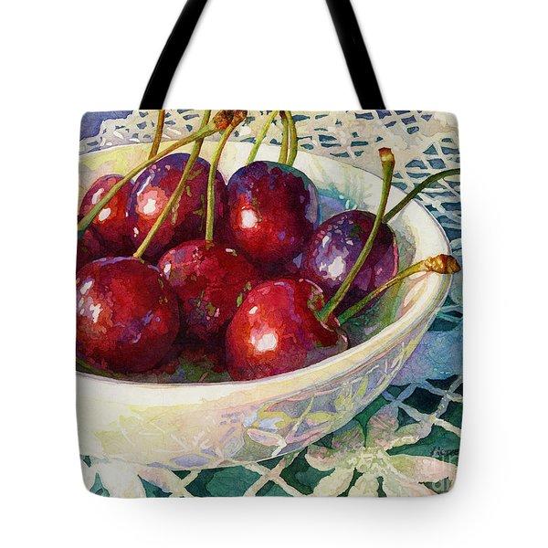 Cherries Jubilee Tote Bag