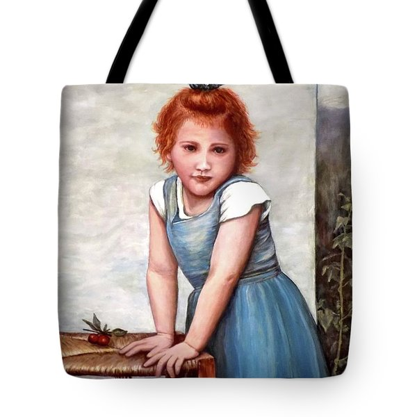 Cherries Tote Bag by Judy Kirouac