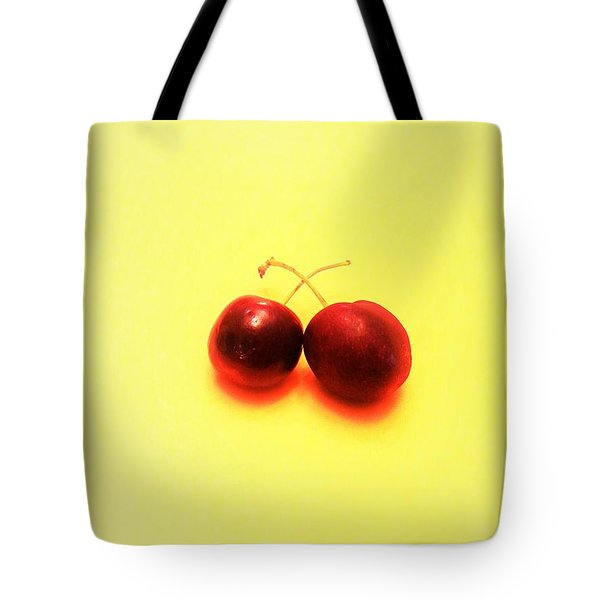 Summer Cherries Tote Bag