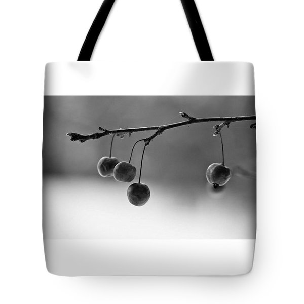Cherries  #monochrome  #blackandwhite Tote Bag
