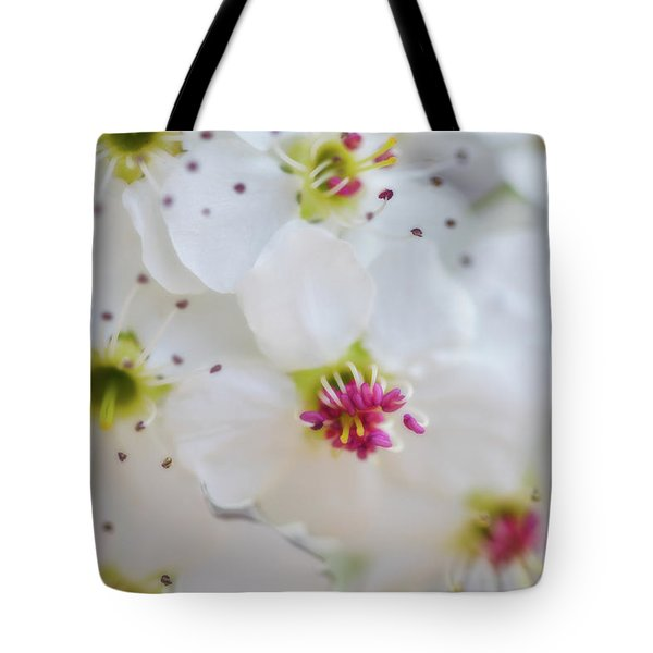 Tote Bag featuring the photograph Cherry Blooms by Darren White