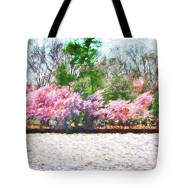 Cherry Blossom Day Tote Bag