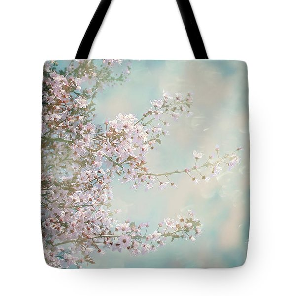 Tote Bag featuring the photograph Cherry Blossom Dreams by Linda Lees