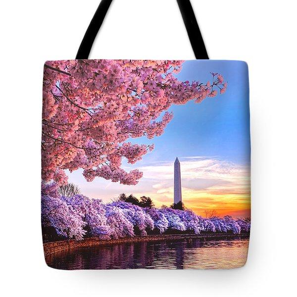 Cherry Blossom Festival  Tote Bag
