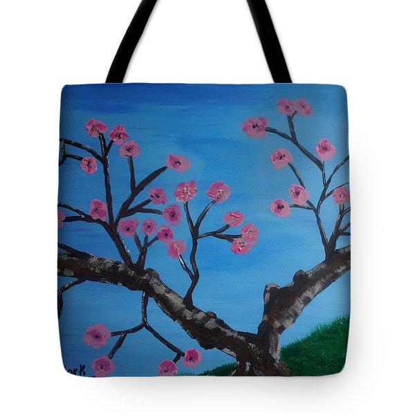 Cherry Blossoms II Tote Bag