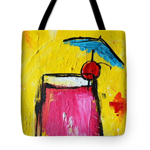 Cherry Blossom - Tropical Drink Tote Bag