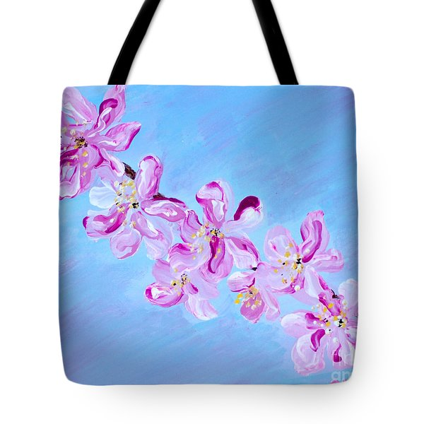 Cherry Blossoms. Thank You Collection Tote Bag