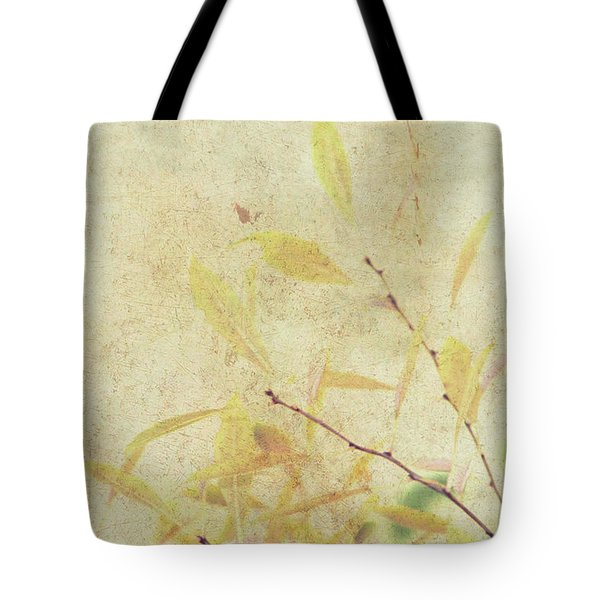 Cherry Branch On Rice Paper Tote Bag