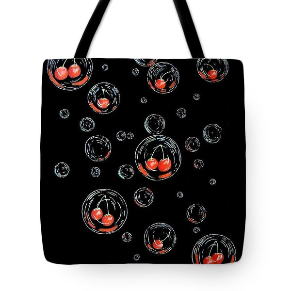 Cherry-bubs Tote Bag