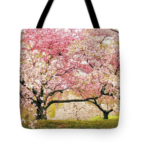 Cherry Delight Tote Bag by Jessica Jenney