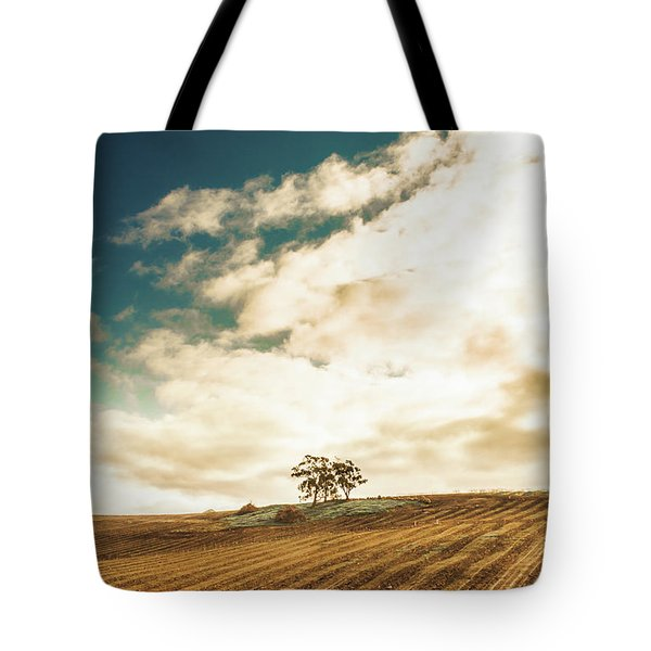 Cherry Farm In The Sewing Tote Bag