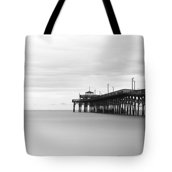 Cherry Grove Pier Tote Bag